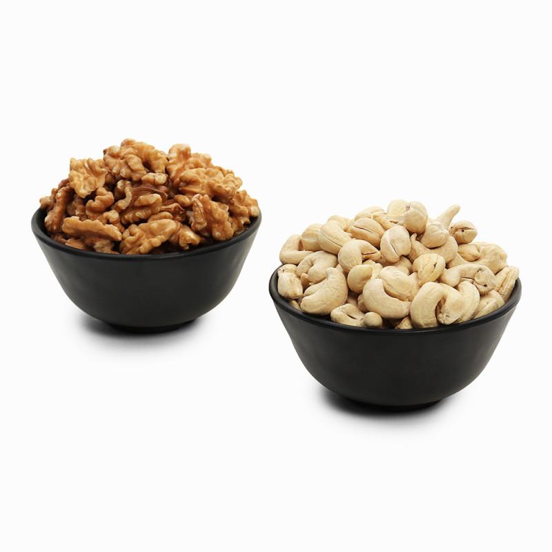 Premium Combo Walnuts and Cashew (Akhrot and Kaju)