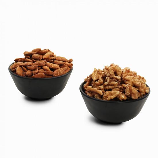 Premium Combo Walnuts and Mamra (Akhrot and Mamra)