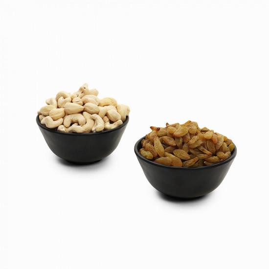 Premium Combo Green Raisin and Cashew (Hari Kishmish and Kaju)