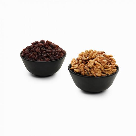 Premium Combo Red Raisin and Walnuts (Lal Kishmish and Akhrot)