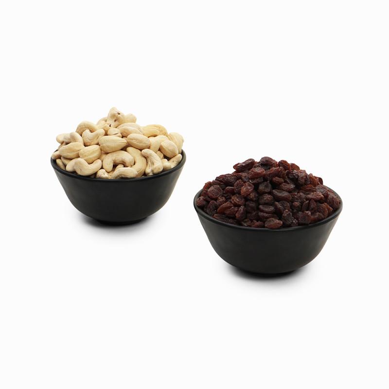 Premium Combo Red Raisin and Cashew (Lal Kishmish and Kaju)