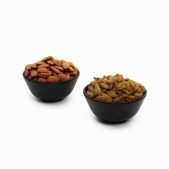 Premium Combo Green Raisin and Almond (Kishmish and Badam)