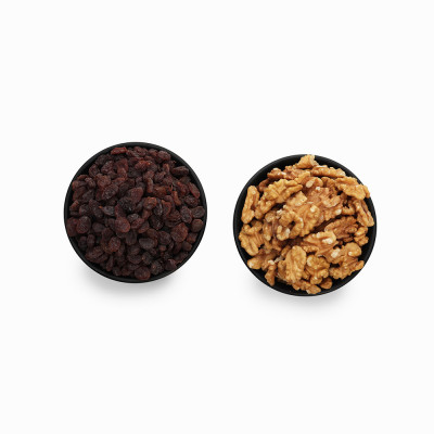 Premium Combo Red Raisin and Walnuts (Lal Kishmish and Akhrot)