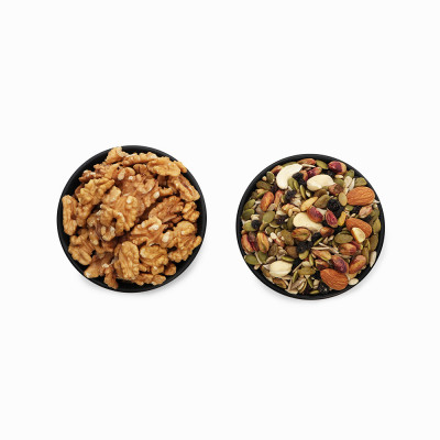 Premium Combo Trail Mix and Walnuts (Trail Mix and Akhrot)
