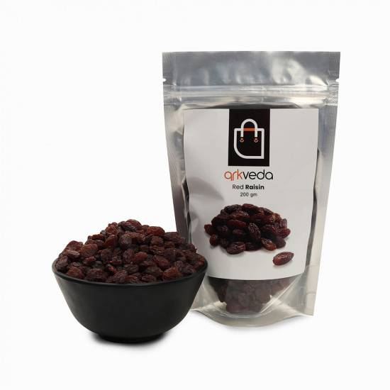Premium Afghani Red Raisin (Kishmish)