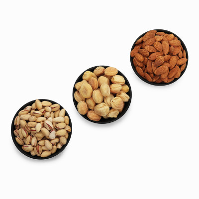 Premium Value Pack of Almond, Pistachio, and Apricot (Badam, Pista, Khubani)