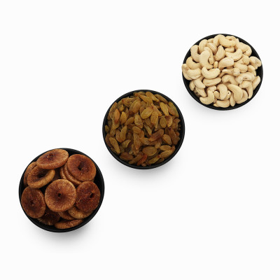 Premium Value Pack of Cashew, Green Raisin, and Fig (Kaju, Hari Kishmish, Anjeer)