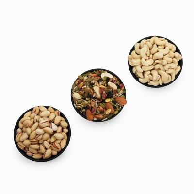 Premium Value Pack of Cashew, Pistachio, and Trail Mix (Kaju, Pista, Trail Mix)