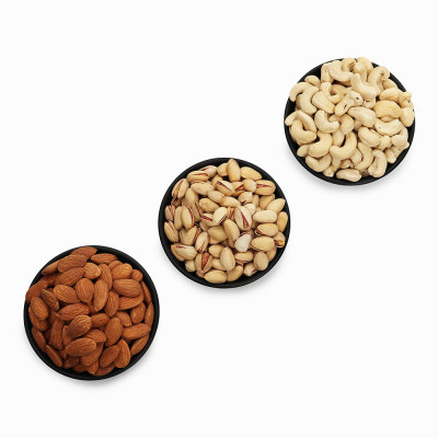 Premium Value Pack of Pistachio, Cashew and Almond (Pista, Kaju, Badam)