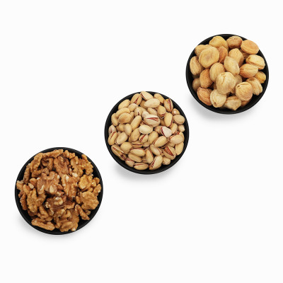 Premium Value Pack of Pistachio, Apricot, and Walnut (Pista, Khubani, Akhrot)