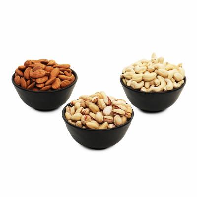 Premium Value Pack of Pistachio, Cashew and Almond (Pista, Kaju, Badam)