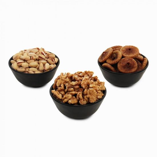 Premium Value Pack Walnut, Pistachio and Fig (Akhrot, Pista, Anjeer)